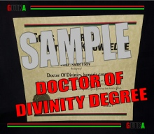Doctor Of Divinity